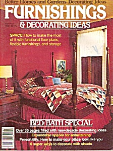 Better Homes And Gardens Decorting Ideas-summer 1980
