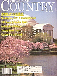 Mid Atlantic country magazine -  April 1987 (Image1)