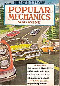 Popular Mechanics magazine -  November 1956 (Image1)