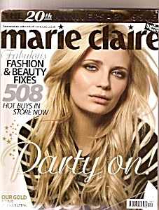 Marie Claire Magazine -united Kingdom - September 2008