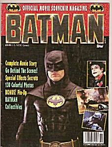 Batman magazine -    1989= (Image1)
