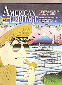American Heritage magazine -  August/September 1985 (Image1)