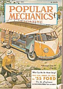 Popular Mechanics magazine - July 1955 (Image1)