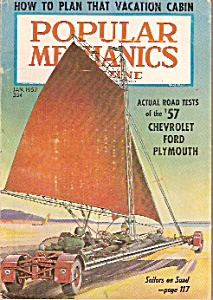 Popular Mechanics magazine -  Jan.1957 (Image1)