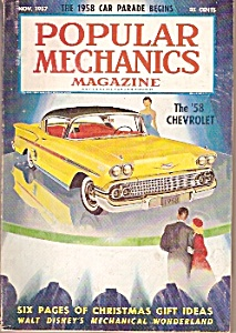 Popular  Mechanics magazine -  Nov. 1957 (Image1)