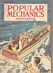 Popular Mechanics magazine -  March 1948 (Image1)