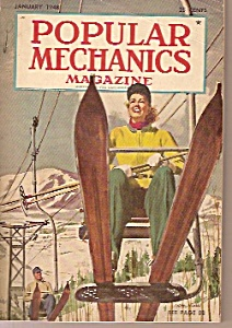 Popular Mechanics Magazine- Janury 1948 (Image1)