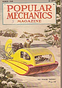 Popular Mechanics magazine-  March 949 (Image1)