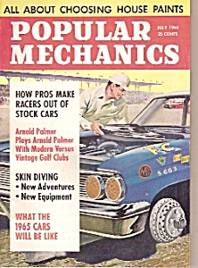 Popular Mechanics Magazine- July 1964