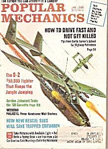 Popular Mechanics magazine - Jan. 1968 (Image1)