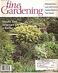 Fine Gardening magazine -  October 2001 (Image1)
