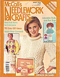 Mccall's Needlework And Crafts - August 1984