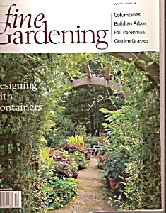 Fine Gardening magazine -  October 1999 (Image1)
