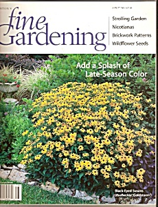 Fine Gardening magazing - aUGUST - 2001 (Image1)