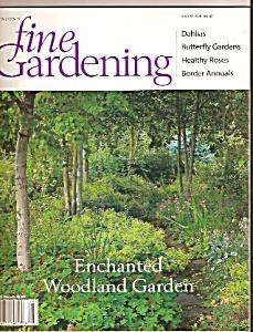 Fine Gardening magazine (Taunton's) -   August 1998 (Image1)