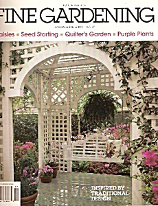 Taunton's Fine Gardening magazine -  January/February 1 (Image1)