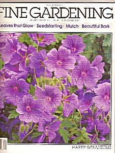 FINE GARDENING  magazine (Taunton's) - Jan.-Feb. 1993 (Image1)