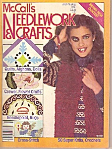 McCall's Needlework  & crafts magazine -  July/August 1 (Image1)