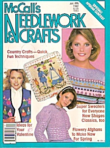 Mccall's Needlework & Crafts Magazine - Jan/feb. 1982