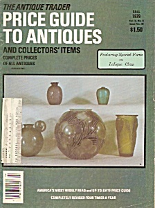 The Antique Trader Price Guide To Antiques - Fall 1979