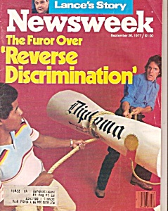 Newsweek magazine -  september 26, 1977 (Image1)