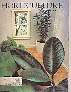 Horticulture Magazine =october 1978