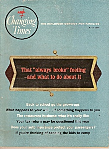 Changing Times magazine -  March 1966 (Image1)