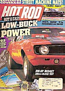 Hot Rod Cars Magazine - October 1990
