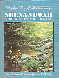 Shenandoah Virginia town and country - July/August 1982 (Image1)