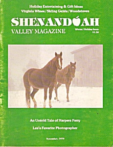 Shenandoah Valley magazine -  Winter-Holiday issue 1979 (Image1)