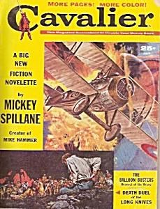 Cavalier fiction novelette  -  July 1960 (Image1)