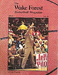 The Wake Forest Basketball magazsie- 1986-1987 (Image1)