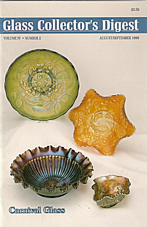Glass Collector's digest - August/September 1990 (Image1)