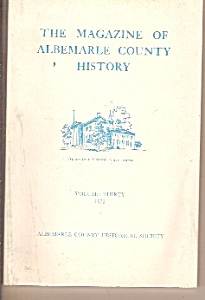 The magazine of Albemarle county history -  1972 (Image1)