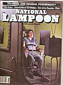 National Lampoon Magazine - Novembr 1981