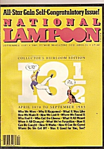 National Lampoon Magazine - September 1983