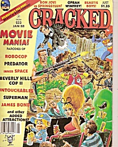 Cracked Magazine -  January 1988 (Image1)
