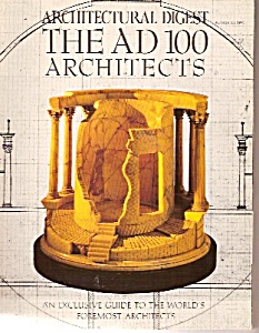 Architectural  Digest -  August 15, 1991 (Image1)