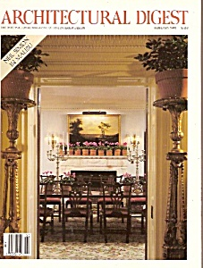 Architectural Digest - February 1991 (Image1)