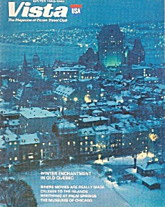 Vista, Exxon travel club magazine - Winter 1982-[1983 (Image1)