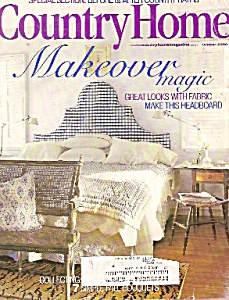 Country Home magaine -  October 2000 (Image1)