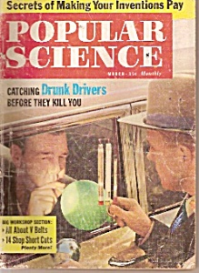Popular Science Magazine - March 1961