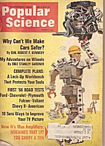 Popular Science Monthly 0- November 1965