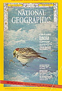 National Geographic magazine -  March 1972 (Image1)