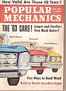 Popular Mechanics magazine -  Oct. 1962 (Image1)
