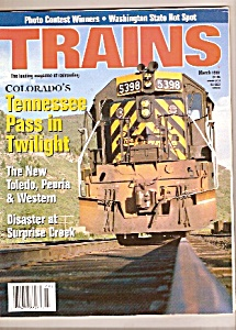 Trains magazine -  March ` 1997 (Image1)