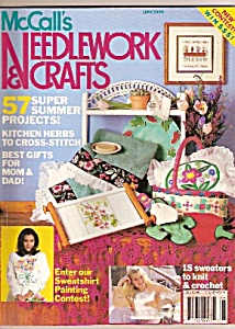 McCall's needlework and crafts - June 1990 (Image1)