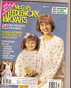 Mccall's Needlework And Crafts - April 1991