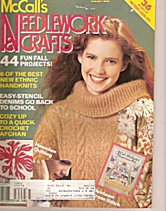 McCall's Needlework  & crafts -  August 1990 (Image1)