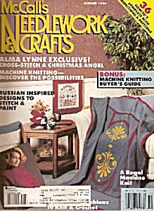 Mccall's Needlework And Crafts -octob Er 1990